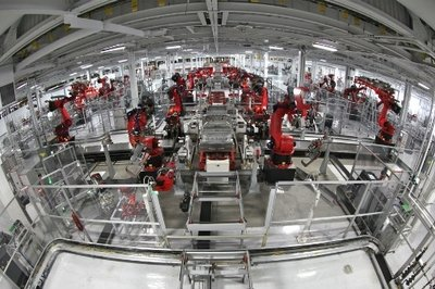 Manufacturing Factory Tesla ERP Features