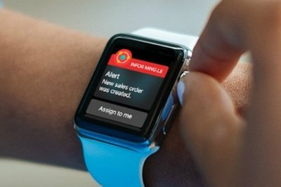 Infor Ming.le ERP Apple Watch