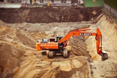 construction erp modules growth - excavator