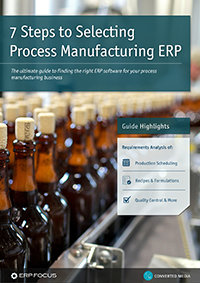 7 Steps to Selecting Process Manufacturing ERP - Cover