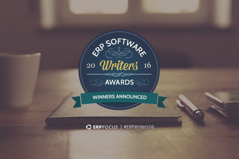 ERP Writers Awards 2016 - winners announced