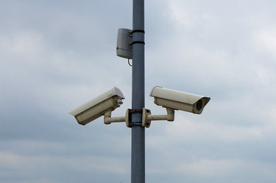 cloud ERP security - security cameras