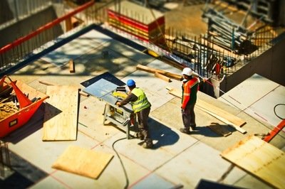 construction ERP - building site