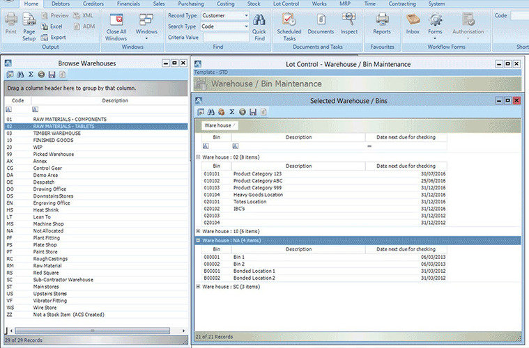 Access Erp Software Erp Pricing Demo Amp Comparison Tool