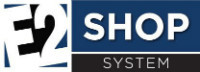 E2 Shop System ERP Software Logo