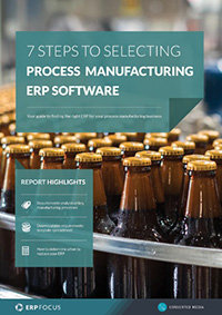 Seven steps to selecting process manufacturing ERP