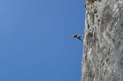 ERP risk management - rock climber