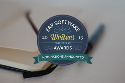 2013 ERP Writers Awards - Nominations Announced