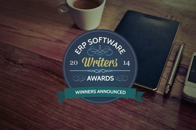 ERP Writers Awards winner