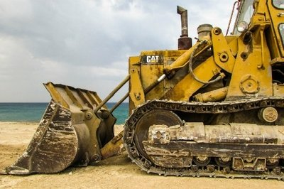 construction erp - bulldozer