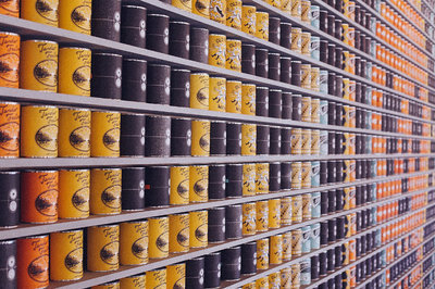 food industry ERP - cans