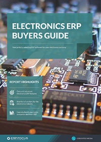 Electronics ERP buyers guide
