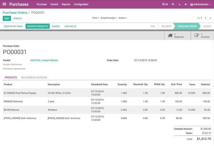 Odoo Enterprise Software - ERP Demo, Pricing & Comparison