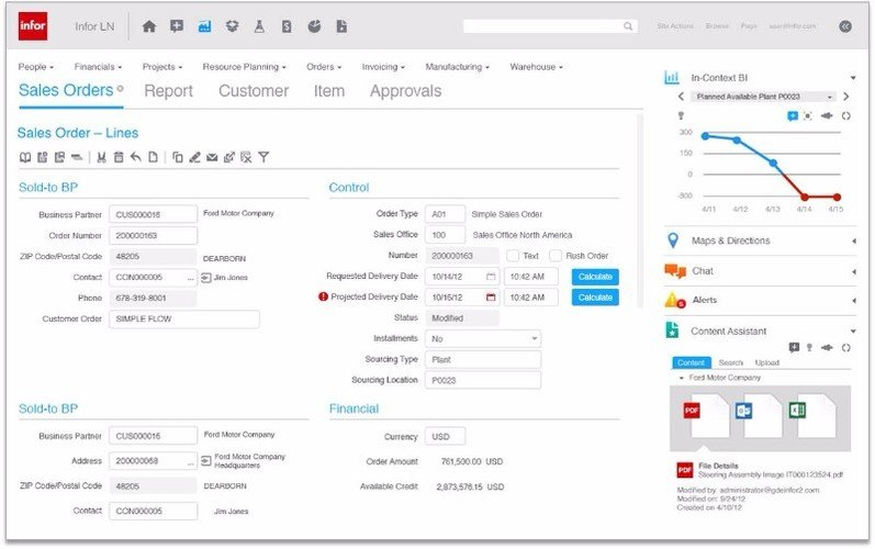 Infor LN | Compare 2021 Reviews, Pricing & Features