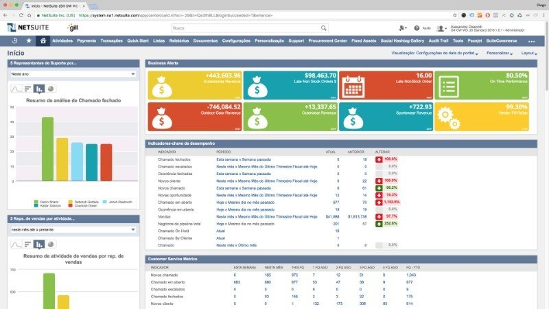 Netsuite Erp Software From Netsuite Compare With Hundreds Of Erp Solutions On Erpfocus Com