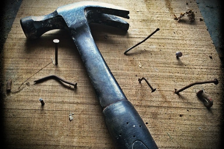 ERP failure case study - hammer and nails
