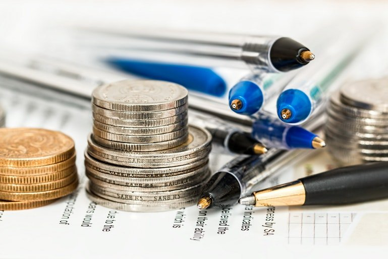 ERP finance requirements - coins and pens
