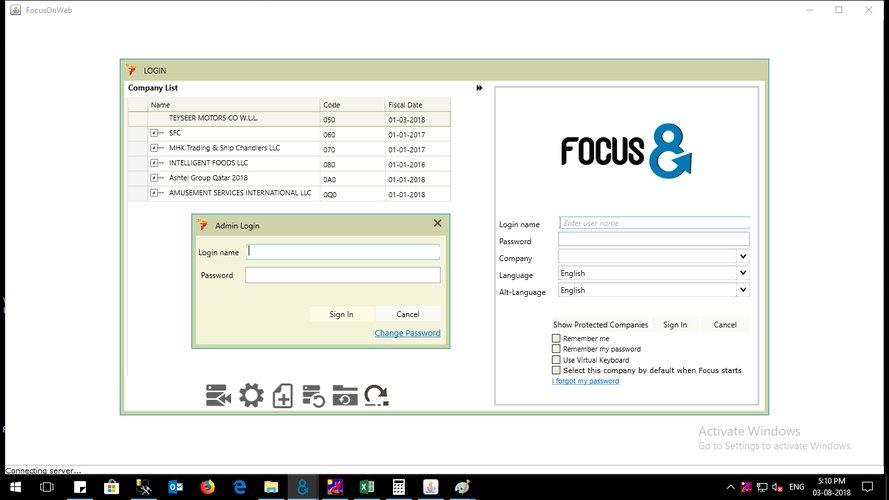 Focus Softnet ERP Vendor - ERP Pricing, Demo & Comparison Tool